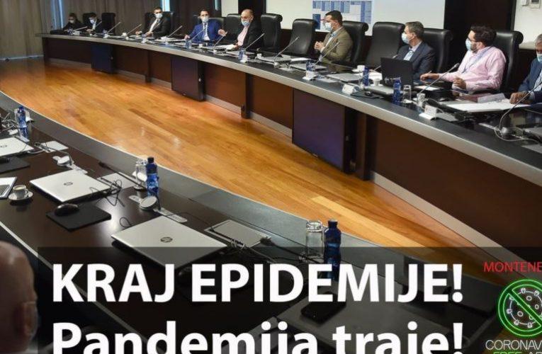 Mali i Zi, shpallet fundi i epidemisë nga COVID-19